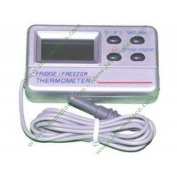 5028587400 Thermostat digital avec alarme pour réfrigérateur ou congélateur