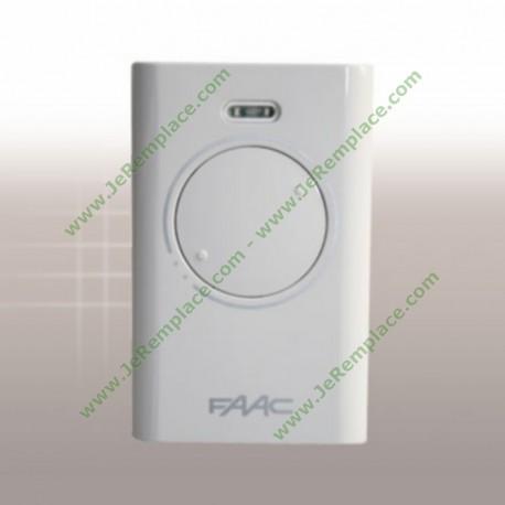 Télécommande Faac XT2 433 SLH Blanc/Noir