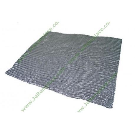 Filtre métallique anti graisse lavable 57x47 cm à découper pour hotte