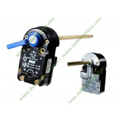 Thermostat tas 170 bulbe 6 mm, 250 volts,697121, 2 cosses, chauffe eau