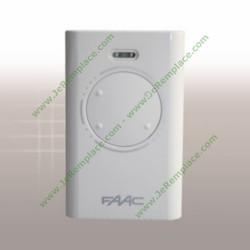 Télécommande Faac XT4 433 SLH Blanc/Noir