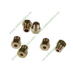 Injecteur 481931039346 gaz naturel pour cuisninère whirlpool laden