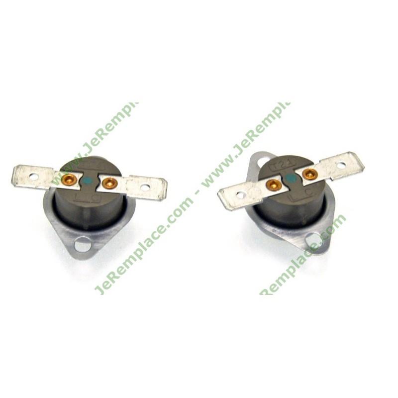 2 klixons pour s che linge ind sit 130 et 106 degree celsius c00095566. Black Bedroom Furniture Sets. Home Design Ideas