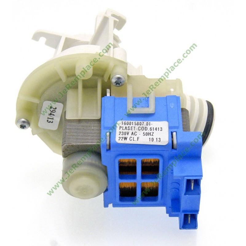 C00090537 pompe de vidange c00054843 lave vaisselle for Pompe chauffante