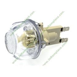 Douille hublot verre complet pour four 3890793346 Electrolux 3890793049 3192560013