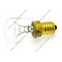 Ampoule E14 15 Watts pour réfrigérateur congélateur toutes marques