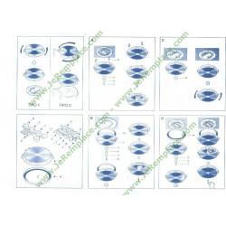 Bloc hydraulique de lave vaisselle Bosch