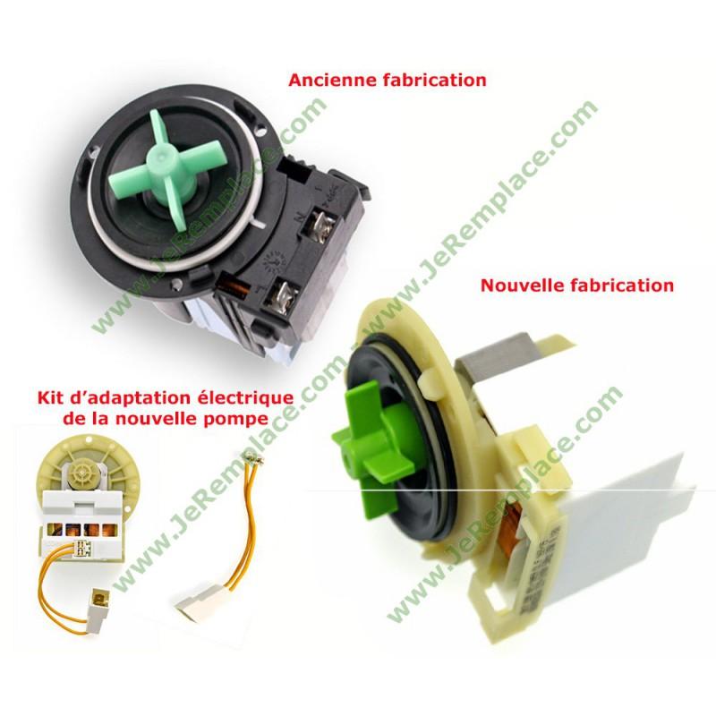 Pompe de vidange 230 volts 30w plaset 60877 ou 54830 ou for Pompe chauffante