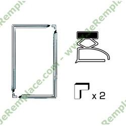 Kit joint universel avec barre magnétique aimantée a semelle pour réfrigérateur et congélateur 2000x1000 mm