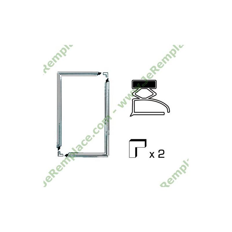 kit joint universel a semelle pour r frig rateur et cong lateur 2000x1000 mm. Black Bedroom Furniture Sets. Home Design Ideas
