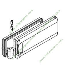 Porte portillon de réfrigérateur Freezer brandt vedette 46X3970