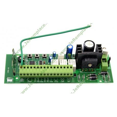 Carte électronique de portail scs ctr51 ctr49 moteur 12 et 24 volts