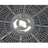 cr300 Filtre charbon actif rond pour hotte aspirante