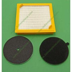 Kit filtre entrée et sorti moteur HOOVER filtre HEPA U27
