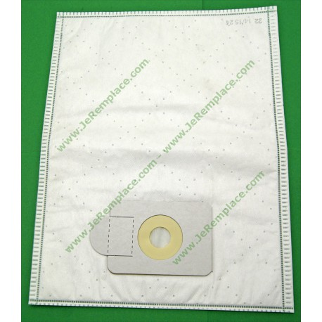 Sacs microfibre aspirateur henry numatic micro fibre 1B 2B 18M