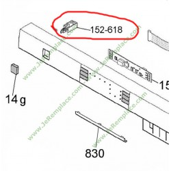 Interrupteur marche arret lave vaisselle 40005965