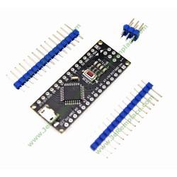 Carte arduino Nano V3.0 ATmega168P CH340 MicroUSB Arduino Nano V3.0