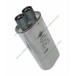 0250213 Condensateur 1.20uF - 2100V 481912118301 micro ondes moulinex