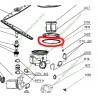 Joint de bloc hydraulique pour lave vaisselle 391a88