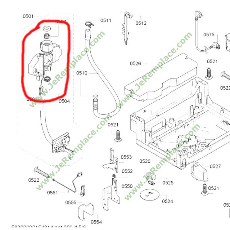 00645701 lectrovanne aquastop pour lave vaisselle bosch. Black Bedroom Furniture Sets. Home Design Ideas