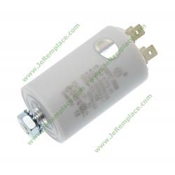 Condensateur permanent 12.5 micro farads pour moteur