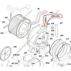 41011501 Ressort gauche de suspension pour lave linge