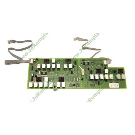 carte électronique clavier de commande pour induction 72x7811 sauter brandt
