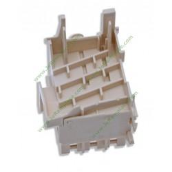Jeu de 2 charbons moteur de lave linge Hotpoint C00196539