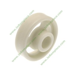 Roulette de panier inférieur c00056347 pour lave vaisselle indésit