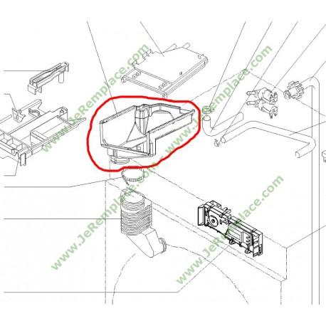 CORPS CUVE Boite produit lave linge brandt fagor as0016233
