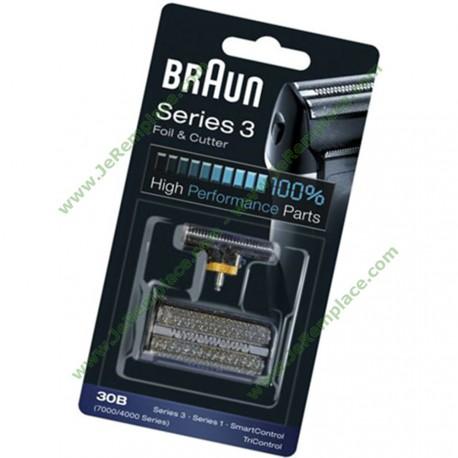 Combi-pack rasoir braun 81387936 SERIE 4000/7000 30B