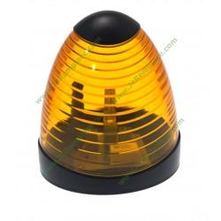 Feu de signalistaion orange à led 230 Volts pour portail automatique