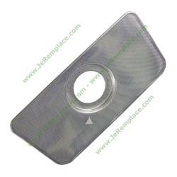 00645037 Filtre inox fond de cuve pour lave vaisselle Bosch