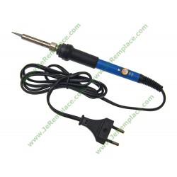 Fer à souder stylo bleu 220 Volts 60 watts règlabe réparation de carte électronique