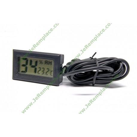 Mini thermomètre hygromètre pour réfrigérateur ou cave à vin
