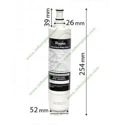 Filtre à eau sbs002 pour réfrigérateur américain 481281729632