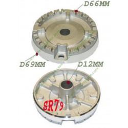 Durite électrovanne / boîte à produits de lave-linge Bosch 00661785