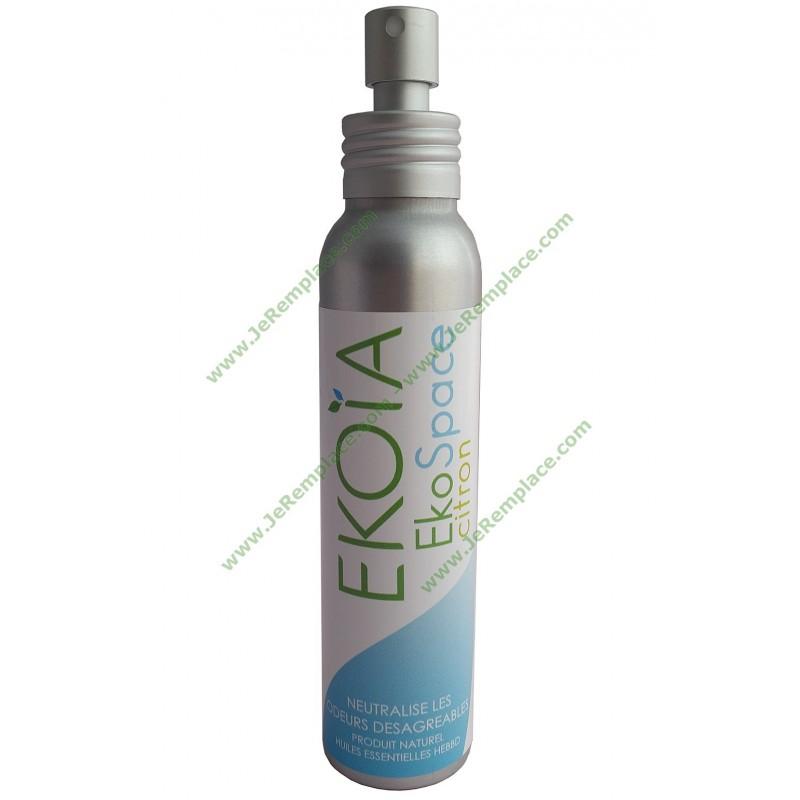 spray neutralisant d 39 odeur citron bio ekoia huiles essentielles hebbd. Black Bedroom Furniture Sets. Home Design Ideas