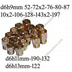 Sachet d'injecteur c00254296 gaz butane pour cuisinière