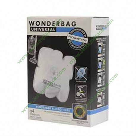 WB484720 5 sacs aspirateur wonderbag ALLERGY CARE
