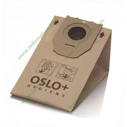 Sachet de 5 sacs microfibres HR6938 pour aspirateur Philips Oslo