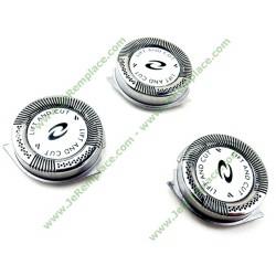 Têtes de rasoir HQ8 hq9 hq177 Philips pour séries Sensotec, 7100 et7200