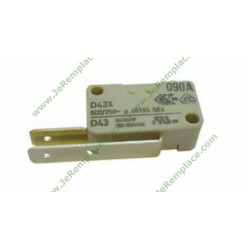 1731980300 Micro-switch 2 contact - 16A - pour lave vaisselle beko