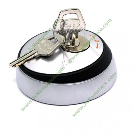 Sélecteur à clé extérieur pour ouverture de portail automatique