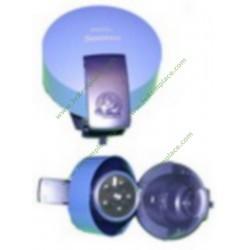 Capot complet bleu 422225926550 pour expresso senséo philips