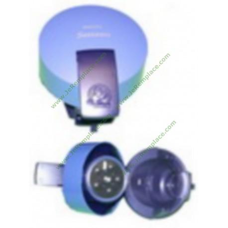 422225926550 Capot complet bleu pour expresso senséo philips