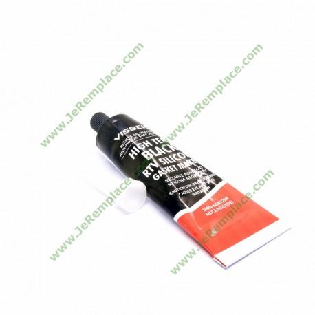 350 Degrés Colle silicone noir haute température Noir Sigill