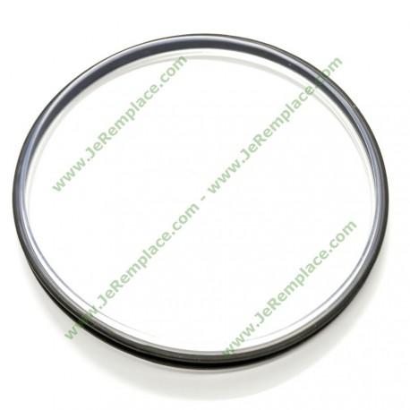 Joint de couvercle de bol gris 30858 pour Vorwerk Thermomix TM31 TM 31