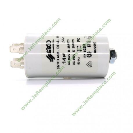 14 Micro Farads Condensateur permanent 450 Volts pour moteur électrique