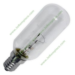 1 Ampoule Lampe E14 40W 23X80 pour hotte